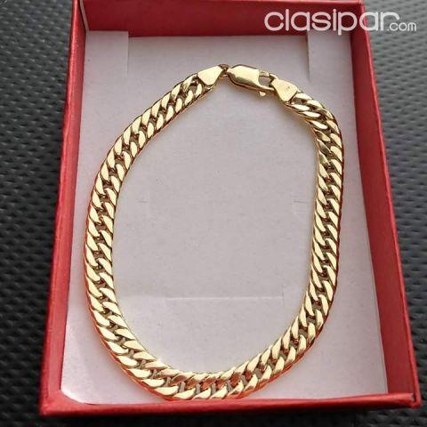 Vendo pulsera de oro 18k