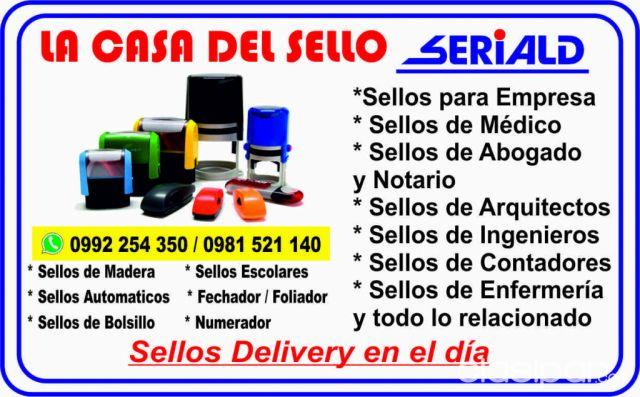 Sellos delivery seriald en paraguay for Delivery asuncion