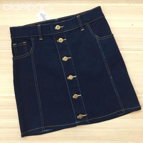 a1a3202682 Ropa y calzados - Polleras de Jeans con Botones - TALLE PP