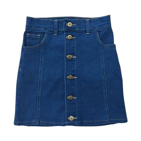 3aab1d7b7d Ropa y calzados - Polleras de Jeans con Botones Talle PP