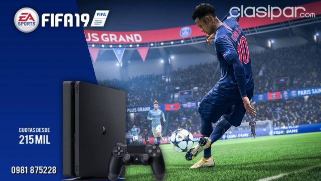Oferta De Sony Ps4 1 Tera Fifa 2019 Playstation Consola De Juegos