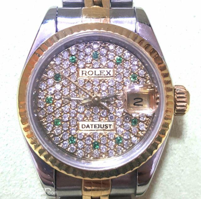 Para Dama Con 100 Reloj Acero Y Mas De Brillantes71654 Oro Rolex TuFl31c5JK