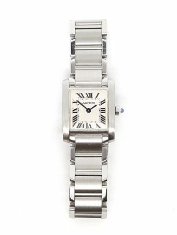 c36649dc9711 Relojes - Joyas - Accesorios - JCR vende reloj CARTIER TANK FRANCAISE para  DAMA. Con