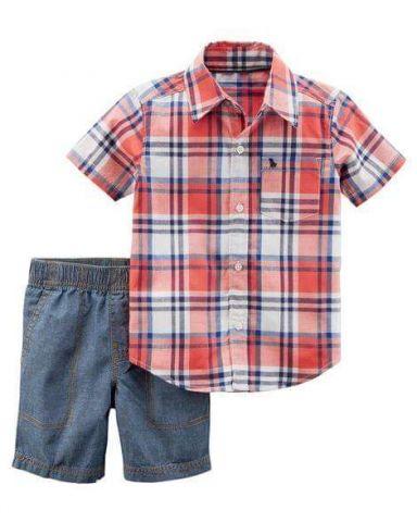 073274667 Ropa para bebés y niños - Conjnto carters para niño- TALLE 3 AÑOS