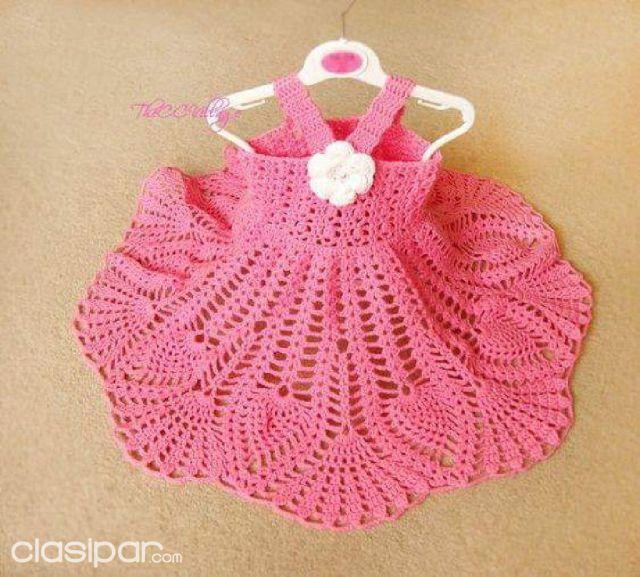 576ce7aaa Vestiditos de crochet para tu bebé #1335273 | Clasipar.com en Paraguay
