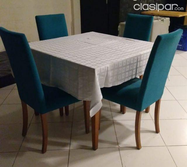 Juego de mesa y sillas - Comedor pequeño #1343214 | Clasipar.com en ...
