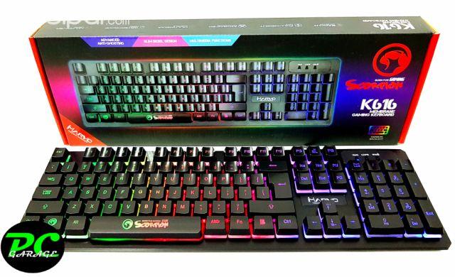 39ca2c844bf Computadoras - Notebooks - Teclado Gamer Marvo Scorpion K616 - PC Garage