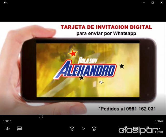 Videito Invitacion Animado P Enviar Por Whatsapp